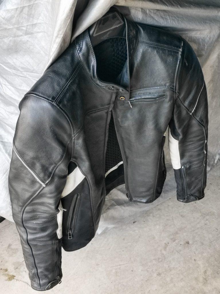 Sport leather jacket